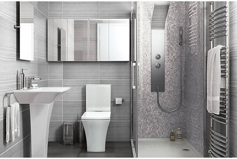 Salle de bain aménagée