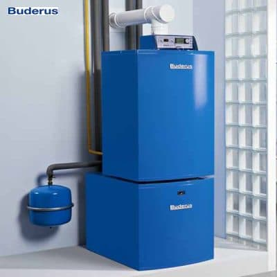 installation chauffage Buderus avec 2 ans garantie